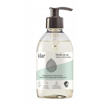 Klar – Mydło do rąk agrest i zielona herbata (300ml)