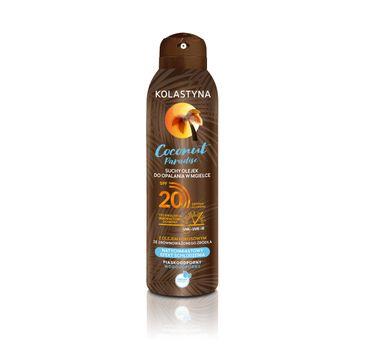 Kolastyna Coconut Paradise Suchy olejek do opalania spray SPF20 (150 ml)