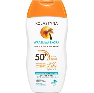 Kolastyna emulsja ochronna do opalania SPF 50+ Wrażliwa Skóra (150 ml)