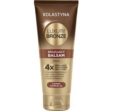 Kolastyna Luxury Bronze Balsam do cia艂a br膮zuj膮cy do ciemnej karnacji 200 ml