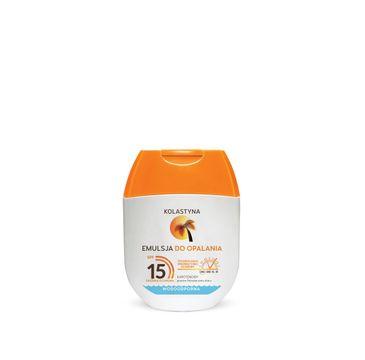 Kolastyna – Mini Emulsja do opalania SPF 15 (60 ml)