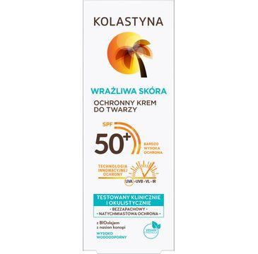 Kolastyna ochronny krem do twarzy SPF 50+ Wrażliwa Skóra (50 ml)