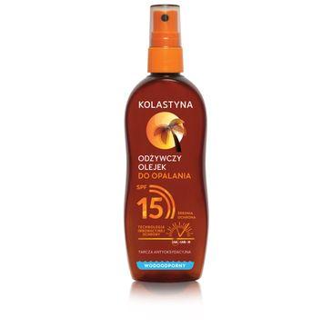 Kolastyna Odżywczy olejek do opalania SPF15 (150 ml)