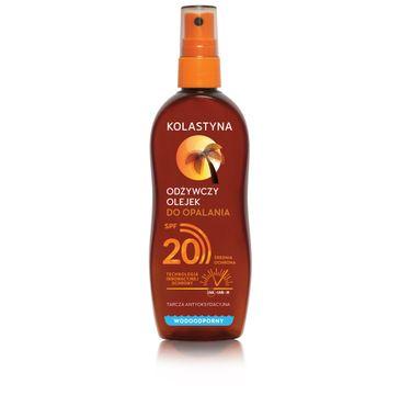 Kolastyna Odżywczy olejek do opalania SPF20 (150 ml)