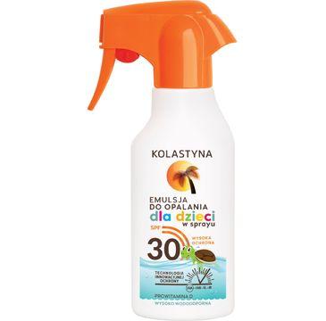 Kolastyna Opalanie emulsja do opalania dla dzieci SPF30 spray 200 ml