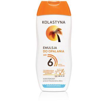 Kolastyna Opalanie emulsja do opalania SPF6 200 ml