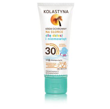 Kolastyna Opalanie krem ochronny dla dzieci wysoko wodoodporny SPF30 75 ml