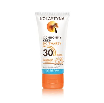 Kolastyna Opalanie krem ochronny do twarzy wodoodporny SPF30 50 ml