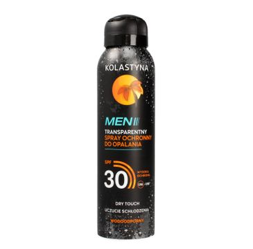 Kolastyna Opalanie Men Transparentny Spray ochronny do opalania SPF30 150 ml