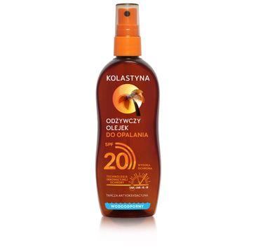 Kolastyna Opalanie olejek do opalania w sprayu SPF20 150 ml