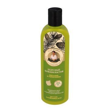 Kolorowa Babcia Agafia balsam do włosów suchych i osłabionych odżywienie i wzmacnianie 280 ml