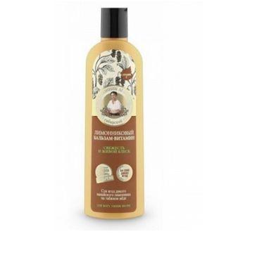 Kolorowa Babcia Agafia balsam do włosów witaminowy trawa cytrynowa 280 ml