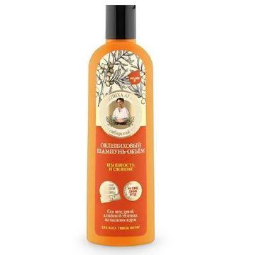 Kolorowa Babcia Agafia szampon do włosów rokitnikowy objętość i puszystość 280 ml
