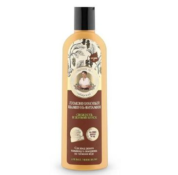 Kolorowa Babcia Agafia szampon do włosów witaminowy trawa cytrynowa 280 ml