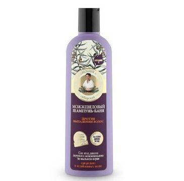 Kolorowa Babcia Agafia szampon jałowcowy przeciw wypadaniu włosów 280 ml