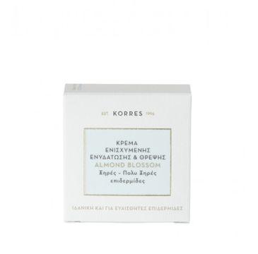 Korres Almond Blossom Intense Moisturising & Nourishing Cream Dry/Very Dry Skin nawilżająco-odżywczy krem na dzień z ekstraktem z kwiatu migdałowca 40ml