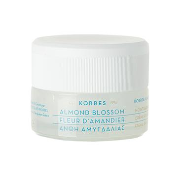 Korres Almond Blossom Moisturising Cream Oily/Combination Skin nawilżający krem na dzień z ekstraktem kwiatu migdałowca 40ml