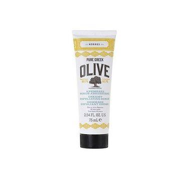 Korres Pure Greek Creamy Exfoliating Scrub kremowy peeling do twarzy 75ml