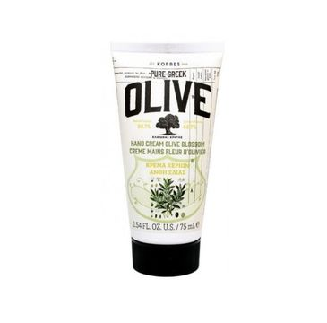 Korres Pure Greek Hand Cream krem do rak Olive Blossom 75ml