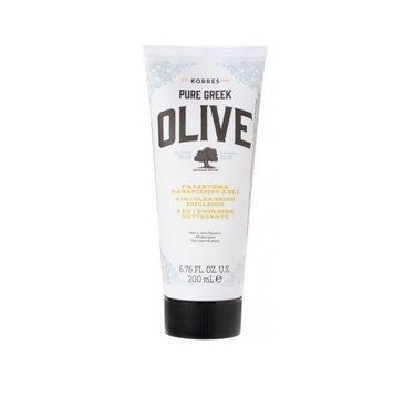 Korres Pure Greek Olive Cleansing Emulsion oczyszczająca emulsja do twarzy 200ml