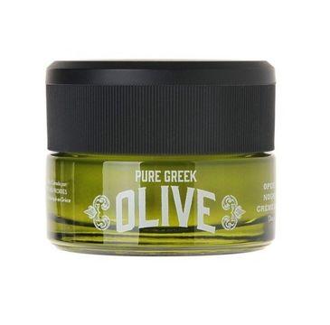 Korres Pure Greek Olive Moistruizing Night Cream nawilżający krem na noc 40ml