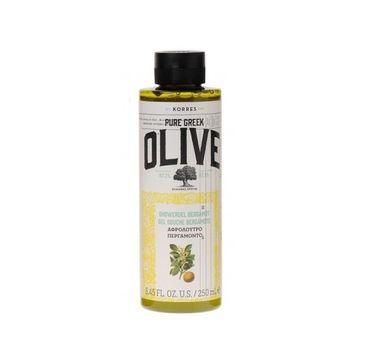 Korres Pure Greek Olive Shower Gel żel pod prysznic Bergamot 250ml