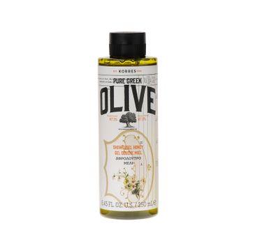 Korres Pure Greek Olive Shower Gel żel pod prysznic Honey 250ml