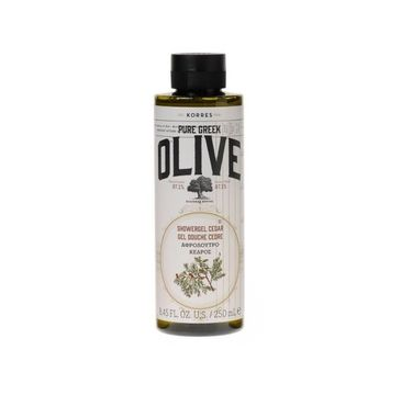 Korres Pure Greek Olive Shower Gel żel pod prysznic Olive Cedar 250ml