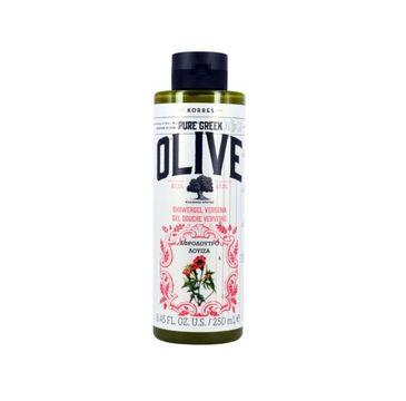 Korres Pure Greek Olive Shower Gel żel pod prysznic Verbena 250ml