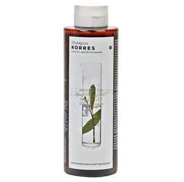 Korres Shampoo Against Dandruff And Dry Scalp szampon przeciwłupieżowy z wyciągiem z liścia laurowego i echinacei do suchej skóry głowy 250ml
