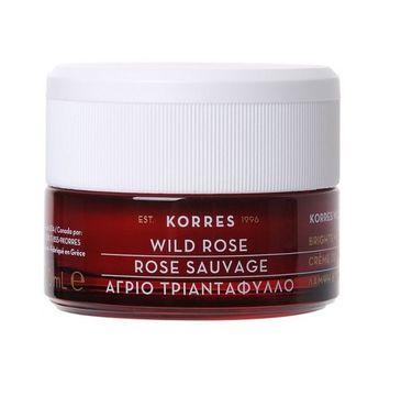 Korres Wild Rose Brightening Day Cream krem na dzień dla skóry normalnej i mieszanej 40ml