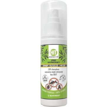 Kosmed Hit Moskito spray przeciw komarom, kleszczom, meszkom (80 ml)