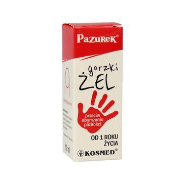 Kosmed Pazurek Gorzki 呕el przeciw obgryzaniu paznokci 10ml