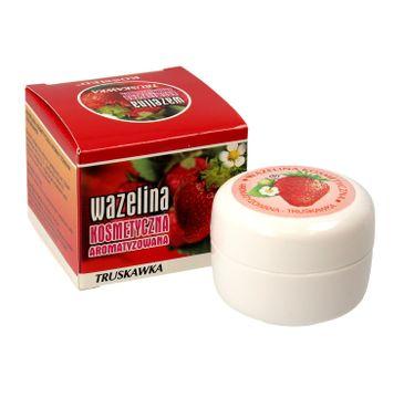 Kosmed Wazelina kosmetyczna aromatyzowana - Truskawka 15 ml