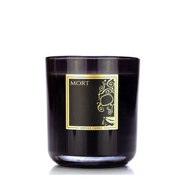 Kringle Candle Black Line Collection świeca z dwoma knotami Mort (340 g)