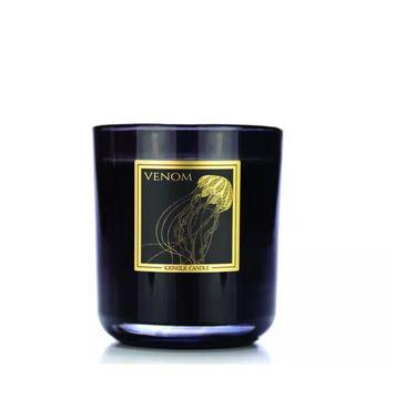 Kringle Candle Black Line Collection świeca z dwoma knotami Venom (340 g)