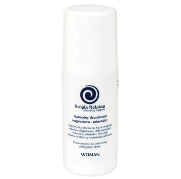 Kropla Relaksu Naturalny dezodorant magnezowo-mineralny dla kobiet 60ml