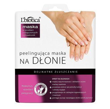 L' Biotica – Maska Na Dłonie Peelingująca (36 g)