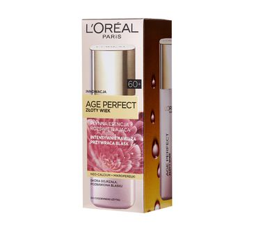 L'Oreal Age Perfect 60+ Złoty Wiek płynna esencja do cery dojrzałej rozświetlająca 125 ml