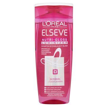 L'Oreal Elseve Nutri Gloss Luminizer szampon do włosów matowych wyzwalający blask 250 ml