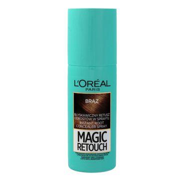 L'Oreal Magic Retouch spray do retuszu odrost贸w nr 3 br膮z 75 ml