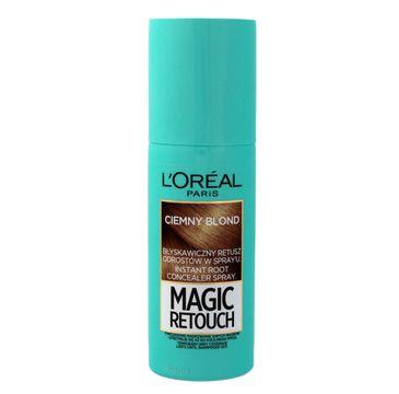 L'Oreal Magic Retouch spray do retuszu odrost贸w nr 4 ciemny blond 75 ml
