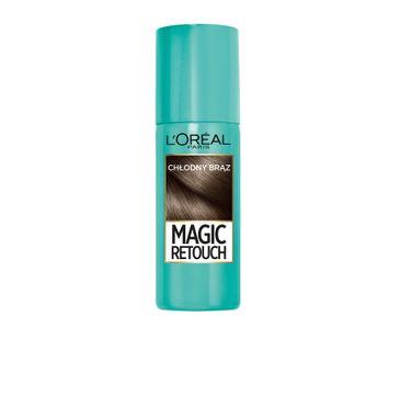 L'Oreal Magic Retouch spray do retuszu odrost贸w nr 7 ch艂odny br膮z 75 ml