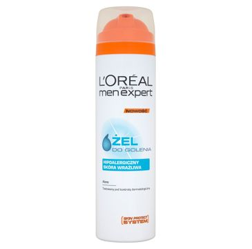 L'Oreal Men Expert Hipoalergiczny żel do golenia 200 ml