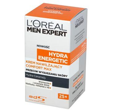 L'Oreal Men Expert Hydra Energetic krem do cery suchej intensywnie nawilżający 25+ 50 ml