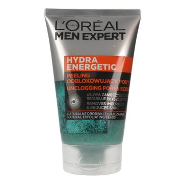 L'Oreal Men Expert Hydra Energetic peeling odblokowujący pory 100 ml