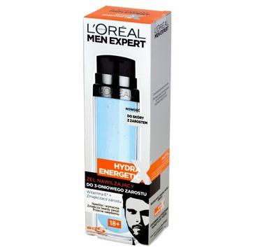 L'Oreal Men Expert Hydra Energetic żel nawilżający do 3-dniowego zarostu 18+ męski 50 ml