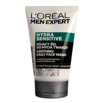 L'Oreal Men Expert Hydra Sensitive Kojący żel do mycia twarzy - skóra wrażliwa 100 ml