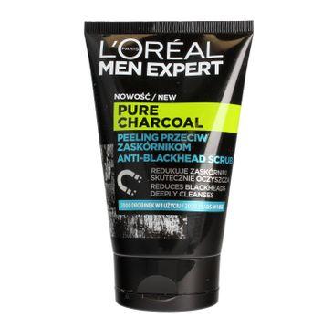 L'Oreal Men Expert Pure Charcoal peeling przeciw zaskórnikom 100 ml