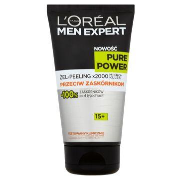L'Oreal Men Expert Pure Power Żel-Peeling do twarzy przeciw zaskórnikom 15+ 150 ml